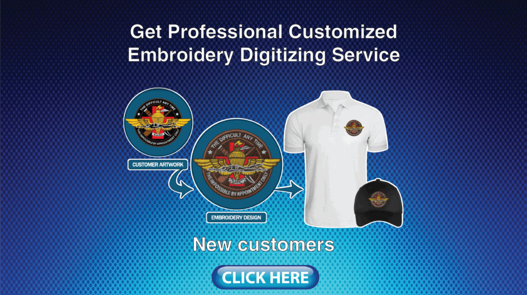 Get Custom Embroidery Digitizing Service with Sew Out | Crystal